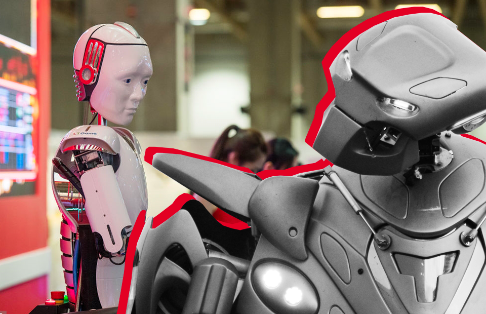 Cтиль Робот