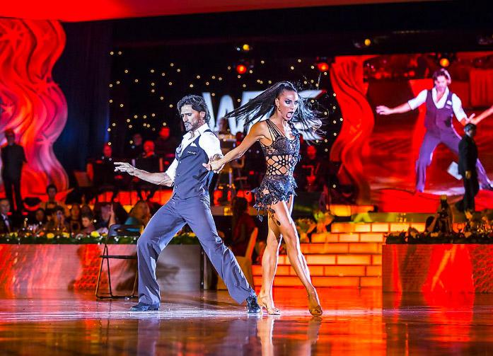 Victor Da Silva and Anna Melnikova. Супер танец
