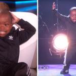 Хип-хоп от пятилетнего Tavaris Jones