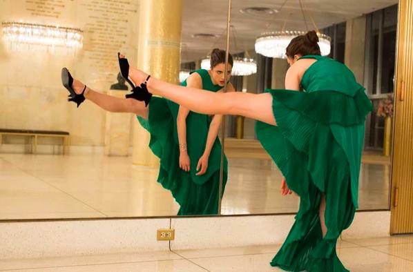 Новый тренд: удивительный симбиоз мира моды и танцев.
