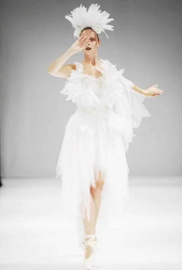 Показ мод в балете