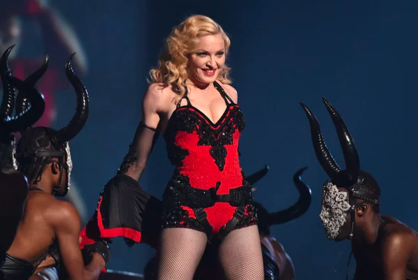 Screenshot 183 - Мадонна: женщина, которая never stop