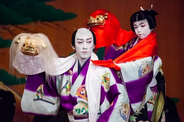 Юмор в Японии - театр кабуки