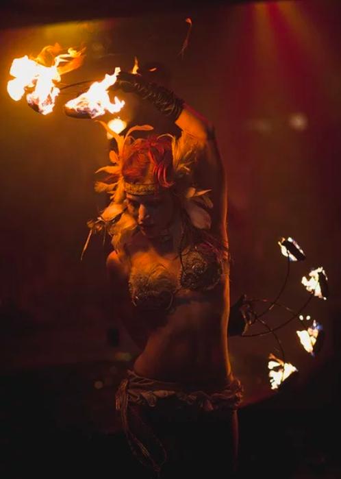 Магический Fire Dance: как все начиналось…