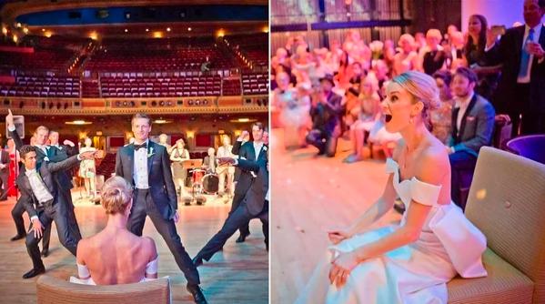 Свадебное попурри, взорвавшее интернет…