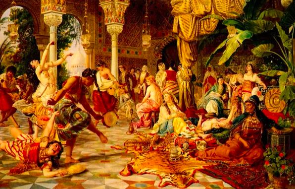 Screenshot 285 - Как развлекались девушки в султанском серале...