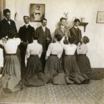 Белый танец – этикет столетней давности.