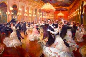 Белый танец - история возникновения