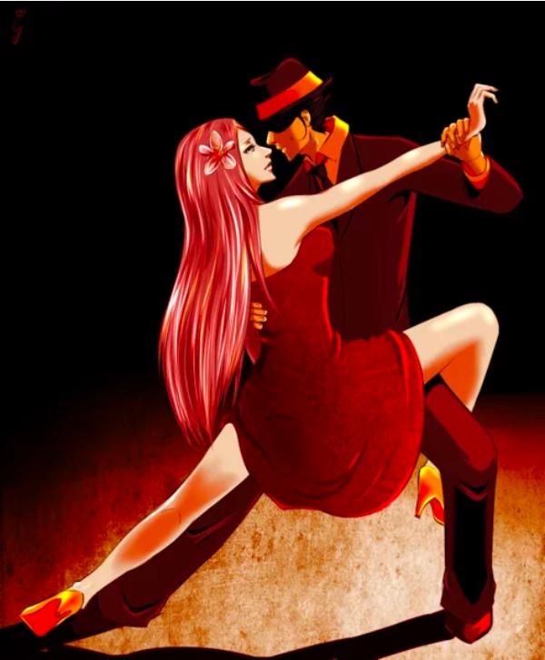 Многоликая сдержанность танго.