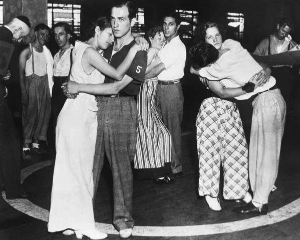 Танцы во времена Великой Депрессии