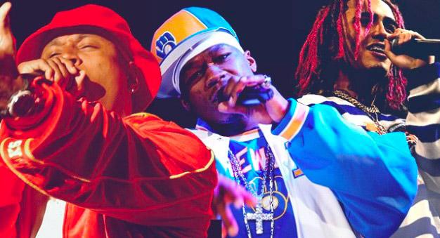 Звезды хип-хопа