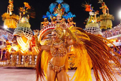 история карнавала в Бразилии