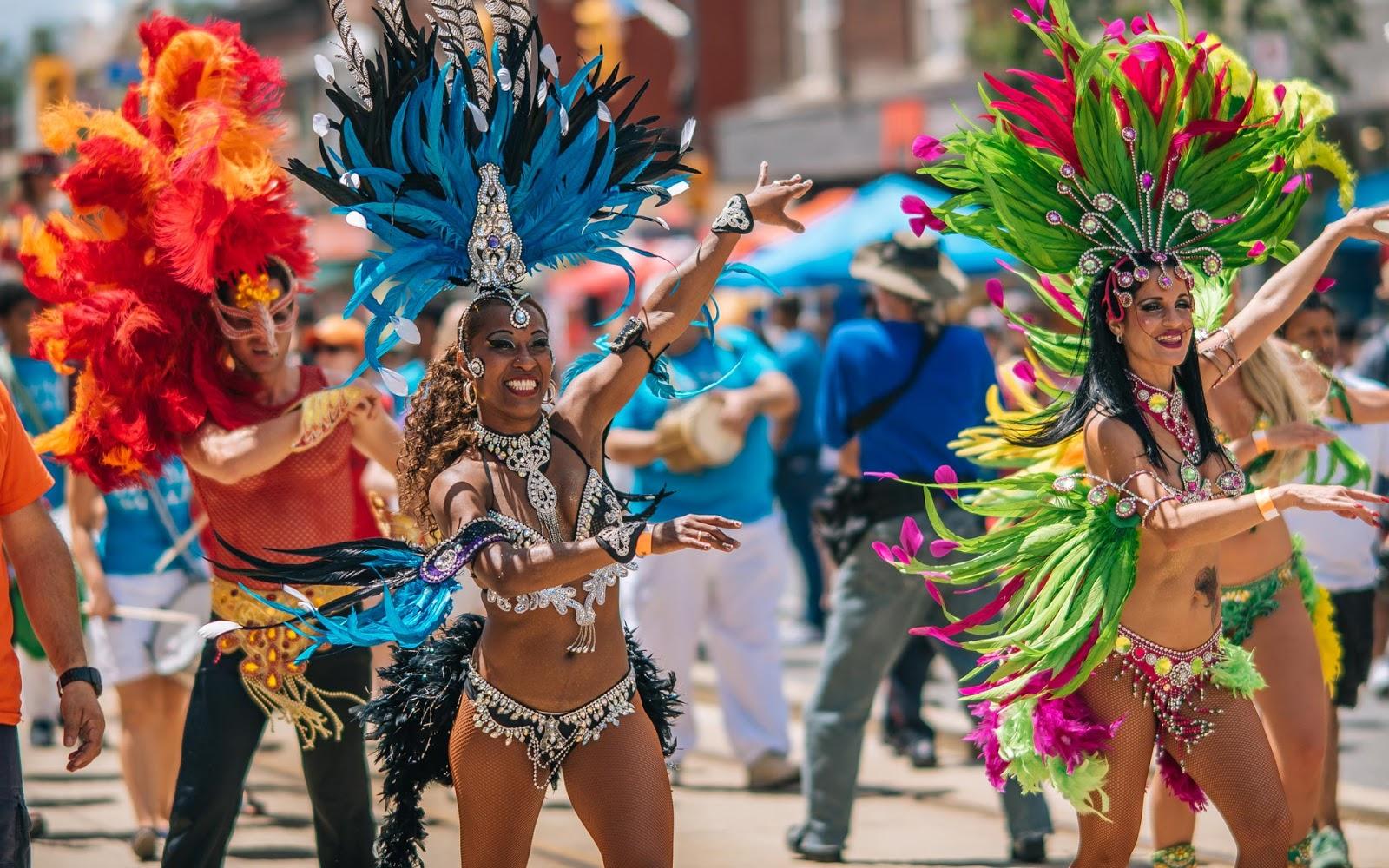 Зарождение: бразильский танец самба.