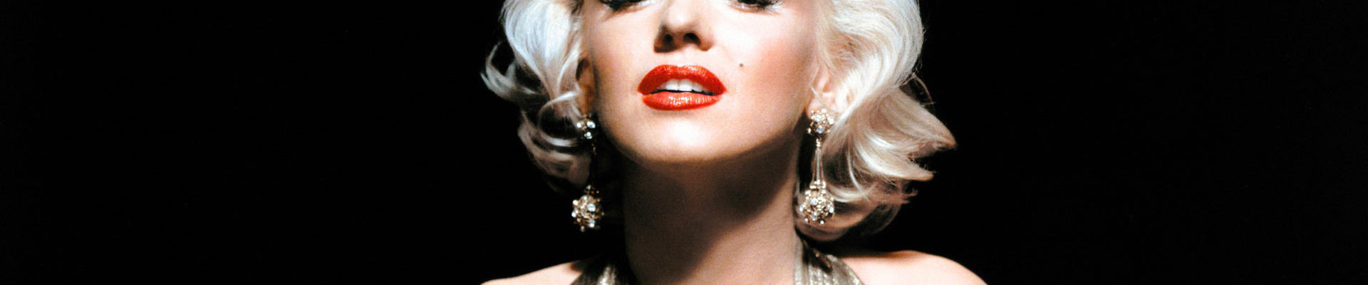 Marilyn Monroe Computer Wallpaper 1920x400 - Мерилин Монро.Икона стиля со своим особым танцем тела