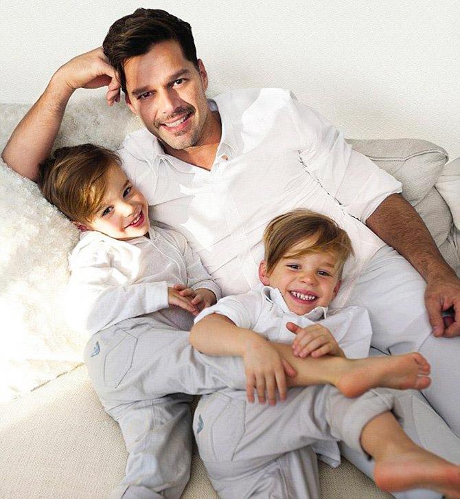 Рики Мартин стал отцом в третий раз